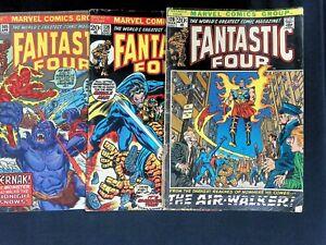 Fantastic Four #120-212 (26 Comics!) Bronze Age Galactus Namor Marvel Comics