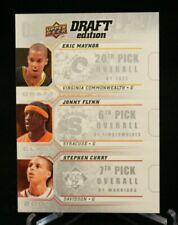 2009-10 UD Draft Edition Draft Class #D-MFC Eric Maynor, Flynn, Stephen Curry
