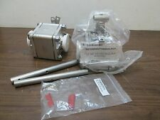 "LOT OF 2 SVF Stainless Steel 2-1/2"" High Purity Valves SB7 S/S TFM TRI-CLAMP"