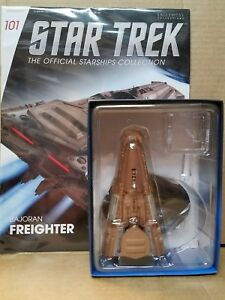 Star Trek Eaglemoss Starship Bajoran Freighter & magazine 101