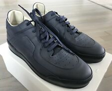 cdcdb51a670a Maison Margiela Navy Blue Leather SNEAKERS Size US 11 Made in Italy