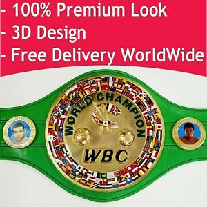 WBC World Boxing Championship Title Belt Adult Full Size World Boxing Council 3D