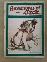 1921, Adventures of Jack, Frances Brundage, 1st ed., very good cond., Stecher
