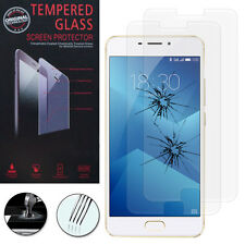 """2x Safety Glass For Meizu M5 Note 5.5 """" Genuine Glass Screen Protector"""