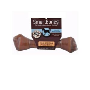 SmartBones Value Single Medium For Dogs Peanut Butter 2.2 oz Chews teeth 6pk