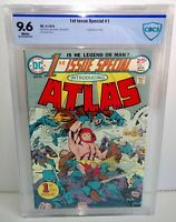 1st Issue Special #1 Introducing Atlas CBCS 9.6 DC 1975 Jack Kirby 1st App Atlas