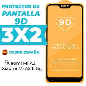 Protector Pantalla Xiaomi Mi A2 / A2 Lite Cristal Templado Completo 9D Dureza 9H