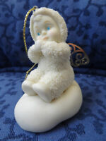 "Department 56 Snowbabies Hanging Ornament  "" ANGELIC  WISHES """