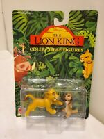 1994 Disney Mattel Lion King collectible figures Simba and Timon New