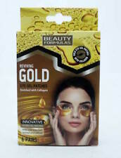 Beauty Formulas Reviving Gold Eye Gel Patches 6 Pairs Enriched With Collagen