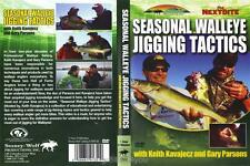 Walleye Fishing Seasonal Jigging Tactics Keith Kavajecz & Gary Parsons DVD NEW