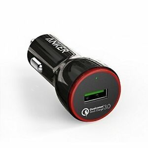 [Upgraded] Quick Charge 3.0, Anker 24W USB Car Charger (Quick Charge 2.0 Comp...