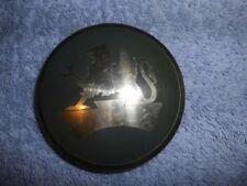 BEDFORD VAUXHALL ALLOY CAP BADGE  3 INCH DIAMETER N.O.S.