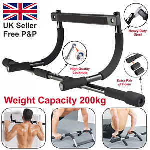 Doorway Pull Up Bar Chinup Abdo Dip Station Situp Home Exercise Fitness Workout