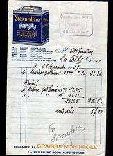 """COMMENTRY (03) QUINCAILLERIE """"PETIT"""" Publicité HUILE Moteur STERNOLINE en 1929"""