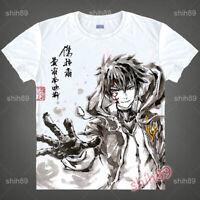 Anime FAIRY TAIL Jellal Fernandes T-shirt Short Sleeve Unisex Tops Ink Print Cos