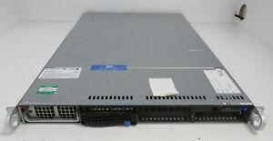 Supermicro H8QGI+-F 1U Server / 4 x AMD 8/C Opteron 6134 2.3GHz / 128GB RAM