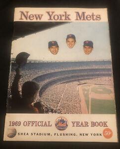 1969 New York METS PROGRAM! AMAZING METS SEASON Nolan Ryan, Seaver, etc! EX!