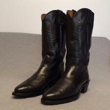 "Texas Western Cowboy Leather Riding Casual Work boots men's size 8.5 D ""Usa"""