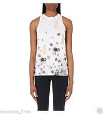Camisas y tops de mujer blancos Versace
