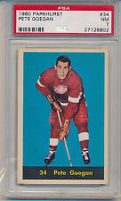 1960 Parkhurst Hockey Pete Goegan (#34) PSA7 PSA
