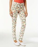 Charter Club Bristol Printed Skinny Ankle Jeans