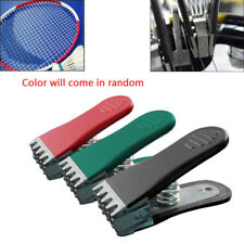 Badminton Clamp Spring Loaded Tennis Flying Gripper Racket Stringing Tool Random