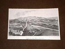 Roma nel 1898 Veduta del Monte Mario a 300 metri