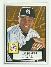 2001 Topps Heritage DEREK JETER YANKEES #11 BLACK BACK SP