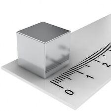 10 STÜCK NEODYM POWER MAGNET WÜRFEL 12x12x12mm N48 SUPERMAGNETE PINNWAND HOBBY