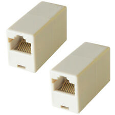 RJ45 Crossover CAT5e/CAT6 Coupler -Socket to Female-Joiner Adapter Extension LAN