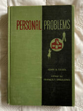 Personal problems: Psychology applied to everyday living 1949 School Book
