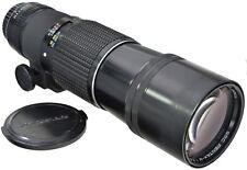 Pentax-M PK 400 mm 5.6 SMC + étui