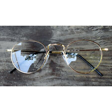 1920s Vintage Classic Round Oliver Retro Frames 61R10 Gold Eyeglasses rubyruby