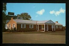 New Jersey NJ postcard Freehold Van's Freehold Inn Route 79 Banquets Catering