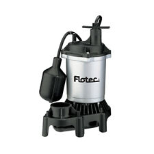 Flotec 12 Hp 4200 Gph Max Flow Submersible Thermoplastic Sump Pump Open Box