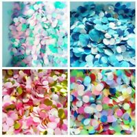 Round Sprinkles Tissue Paper Confetti Event Wedding Birthday Party Table Decor