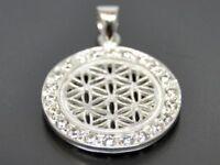 Blume des Lebens Anhänger Silber Gothic Schmuck - NEU