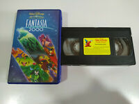 Fantasia 2000 Walt Disney 74 min - VHS Cinta - 2T