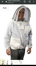 FOREST Beekeeping SUPPLIES Large L White Fencing Jacket ventilated padded NEW