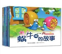 10 books 3D Chinese baby bedtime stories picture books in pinyin Classic Fairy