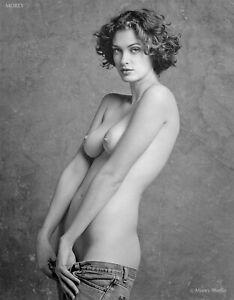 Helena 28621.04 B&W Fine Art Nude Model 8.5x11 Hand-Signed Photo by Craig Morey