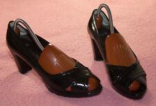 K & S Kennel + Schmenger ♥ Peep toe Pumps ♥ Gr. 6 ♥ *NEUw* ♥ Lack Leder ♥ SCHWA