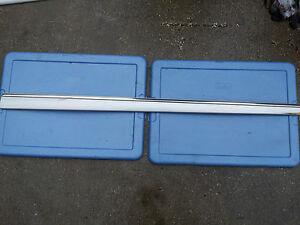 MERCEDES-BENZ W220 S430 S500 LEFT FRONT DOOR MOLDING SILVER 00 01 02 03 04 05 06