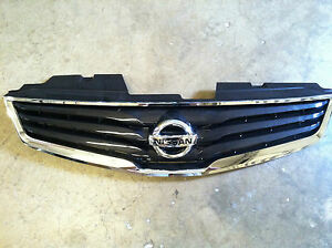 NEW OEM 2010-2012 NISSAN SENTRA GRILLE WITH EMBLEM - NON SPORT PACKAGE ONLY