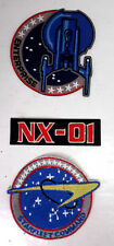 Star Trek Enterprise TV Series NX-01 Uniform Embroidered Patches-Mailed from USA