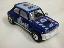 Vintage Corgi Renault 5 Turbo Diecast 18 ELF Blue Rally Racing Toy Model Car