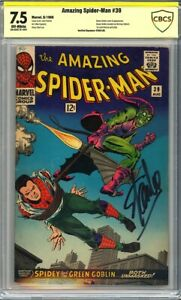 Amazing Spider-Man #39 CBCS 7.5 1st John Romita art, Signed by STAN LEE!L@@K!
