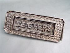 Antique Cast Iron Letter Box-Lettres