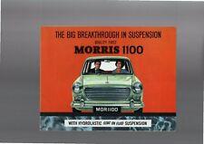 Morris 1100 Sales Brochure 1964